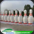 Brinquedo inflável ao ar livre, decoração inflável, tigela inflável inflável, decoração exterior, bowling de incandescência