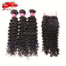 From Guangzhou Export No Chemical Processed 22 inch cheap brazilian deep wave
