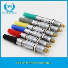 Lemos compatible conectores circulares con Multi-core de 2 pin a 26 pin