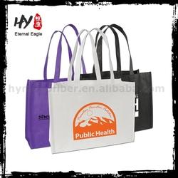 Hot selling fabric nonwoven shopper tote bag, customized logo shopping nonwoven bag, nonwoven tote bag