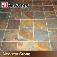 Chinese rustic yellow cheap slate tile