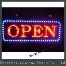 Dynamic LED Open Signs