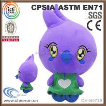 Custom plush toy flying chicken toy
