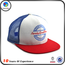 custom new design snapback mesh trucker cap