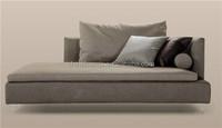 Elegant Comfortable Living Room Fabric Classic Design Sofa Set