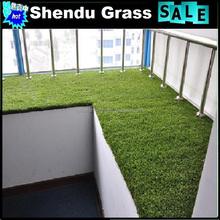 synthetics turf balcony mat with grass