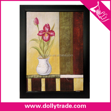 simple abstract flower paintings art on canvas