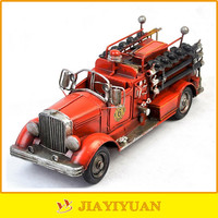American Style 1925 Mack Antique Metal Model fire truck Model for home decoration