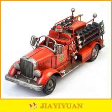 in stile americano 1925 mack antico in metallo modello di camion dei pompieri modello per la decorazione domestica