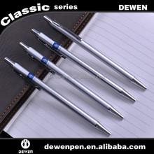 Retractable Sliver Metal High Quality Click Pen