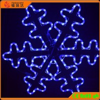 LED snowflake motif light for christmas decorative lighting
