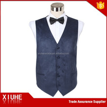 Custom high quality latest waistcoat/vest designs for men