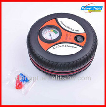 Round shape tire air filling for car
