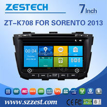 Factory price Autoradio with GPS FOR Kia SORENTO 2013 touch screen 2 din auto car audio radio player
