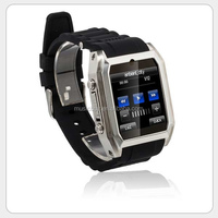 2014 Hot sale MP3 MP4 bluetooth Watch Mobile Phone 32G with Spy Camera MSN,QQ,Facebook, Twitter