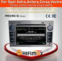 HIFIMAX Android 4.4.4 car radio dvd gps navigation for OPEL Astra/Antara/Vectra/Corsa/Zafira (grey color)