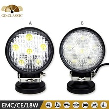 18w led work light car led tuning light KR4183 led accessory for tanks agriculture vehicle 4 INCH LED HEADLAMP