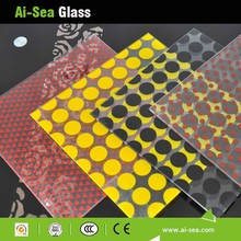 Customized Ceramic Glass Ceramic Glasses For Fireplace High Quality Colorful Building Stained Glass