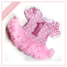 fashion baby birthday party 2 year old girl dress