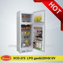 12V DC/ 220V/LPG gas refrigerator,lpg power refrigerator
