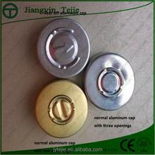 easy open aluminum caps for antibiotic bottle