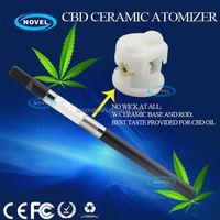 Professional cbd/hemp vape pen factory best innovation cbd ceramic cartridge big vapor e cigarette with adjustable voltage