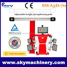 2015 car repairment, 3d wheel alignment/ car alignment machine/ machinery auction