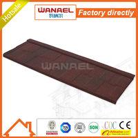 Shingle Wanael stone coated steel roof tile/sliding roof/Korea technology