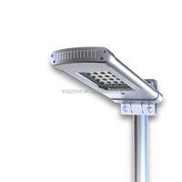 Cheap Aluminum Plastic Solar Garden Light Pir Outdoor Street Light