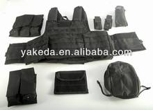 tactical vest,military vest,quick release systerm,8 pieces in 1,military combat vest,bullet proof vest
