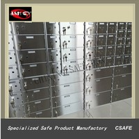 Stainless Steel Bank Safety Deposit Boxes