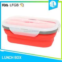 Cheap new design storage silicone keep food warm lunch box