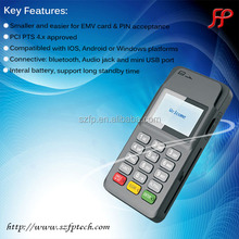 bluetooth pos system pos terminal for magnetic card swiping IC card swiping