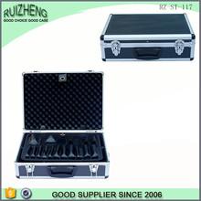 Aluminum Waterproof Shockroof lockable hard plastic tool cases