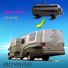 R407C R410A ce rohs horizontal Mobile rv ac air conditioning compressor for Van Roof Mounted Air Conditioner