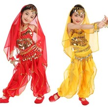 HFR-AC29 2015 girl Indian dance costumes cheap belly dance costume