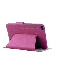 low price 7 inch pu leather tablet pc cover case for huawei tablet