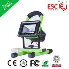 Good price!!!Super Bright Auto Portable ul 10w rechargeable led floodlight from china ,Rechargeable COB LED Flood Light
