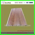 pvc laminado de pvc panel de techo de madera de diseño de color