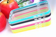 New design PC bumper case for iphone ,tpu mobile phone case,general mobile discovery case