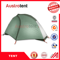 Windproof Three season 1 person backpacking tents light weight outdoor tent Mountain climbing tent