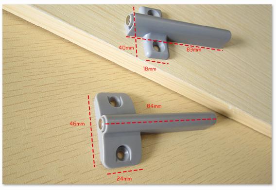 Alta calidad magn tica puerta buffer amortiguador de - Amortiguador puerta cocina ...