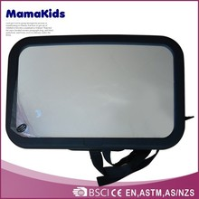 2015 Easy to install on car or baby stroller backseat baby mirror,safety baby mirror