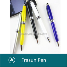 2015 new coming simple design promotional touch screen pen, cheap Metal stylus touch pen