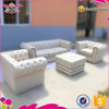New Degsin Qingdao Sinofur Customizable fabric/PU/Leather sofa set designs
