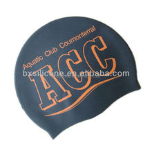 Economic hot sale silicone rubber swim caps swimming