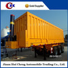 China manufactur tri axle dump trailer for sale