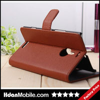 Mobile Phone Wallet Stand Case For Nokia Lumia 1520 Retro Notebook Leather Case