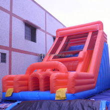 dolphins inflatable slide , NO.2239 new style climbing wall with inflatable slide