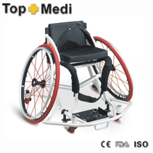 Rehabilitation Therapy Supplies Topmedi THE778LQ-36 aluminum basketball wheelchair with spinergy wheels for disabled